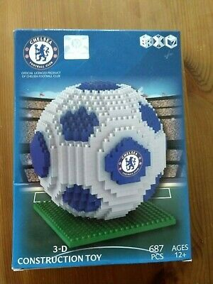 Official Chelsea FC Team 687 Pcs Football Gift Construction Ball 3D Toy • 7.99£