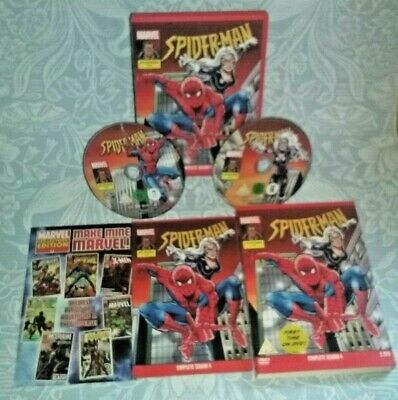 Spider-Man Animated Series 1995 Season 4 DVD Classic Marvel Cartoons Spiderman • 44.99£