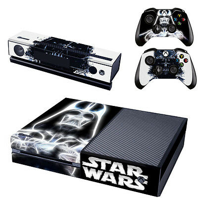 $6.99 • Buy New Star War Decal Cover Skin Joker Sticker For Xbox ONE + 2 Controller Cover