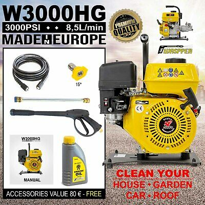 £280 • Buy Petrol Engine Powered Portable High Pressure Jet Washer 3000PSI Waspper W3000HG