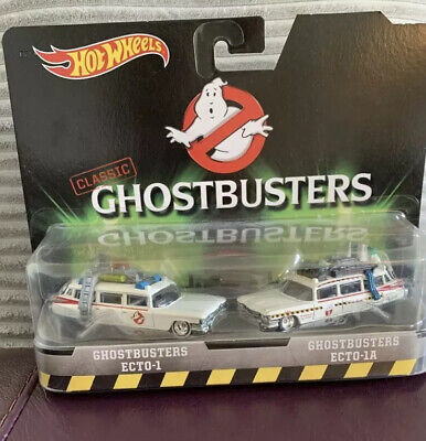 Mattel Hot Wheels Classic Ghostbusters Ecto 1 & Ecto 1a Twin Pack Car 1:64 Scale • 15£