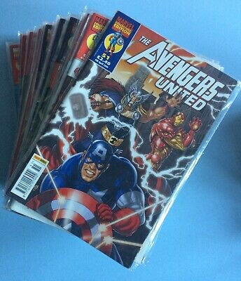 Avengers United 33 Issues Between 51 And 86 Marvel Panini Comics 2005-07 • 34.99£