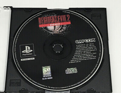 $15.99 • Buy Resident Evil 2 Demo Disc - Capcom, Sony PlayStation 1 PS1, 1999 DISC ONLY