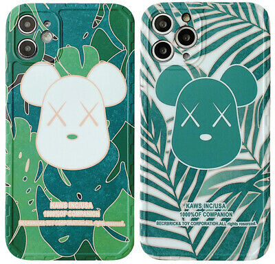 $14.45 • Buy Bearbrick Bear XX Bape Green Phone Cover Case For IPhone 11 Pro Max XR XS SE 2nd