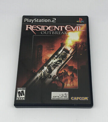 $16.99 • Buy Resident Evil: Outbreak (Sony PlayStation 2, 2004) PS2 Complete Tested