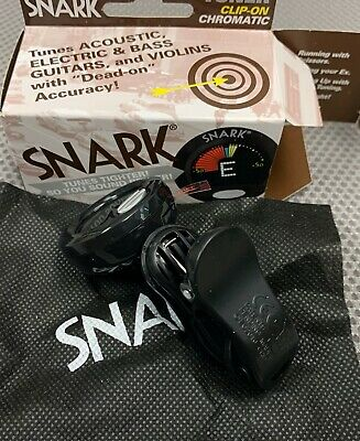 $ CDN16.74 • Buy New Snark Sn5 Clip-on Chromatic Tuner For Guitar, Bass, Uke, Banjo & Violin Sn-5