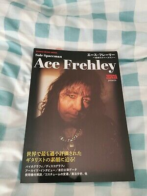 Ace Frehley Young Guitar Presents Japanese Magazine • 10£