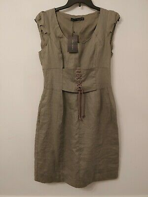 $27 • Buy Zara Linen Dress Large New