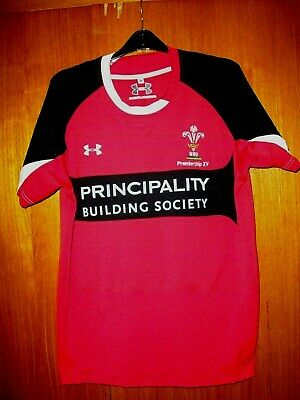 Wales Rugby Union Football Jersey Shirt Under Armour Size M 38/40 Premiership XV • 9.99£