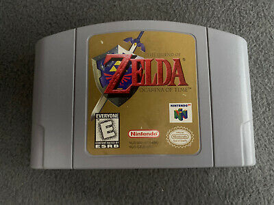 $44.99 • Buy The Legend Of Zelda: Ocarina Of Time N64 Authentic Tested Cleaned Nintendo 64