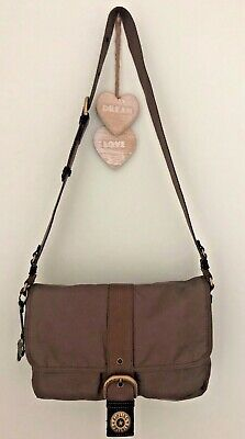 KIPLING City Yodie Bag Khaki Brown Brand New Without Tags • 30£