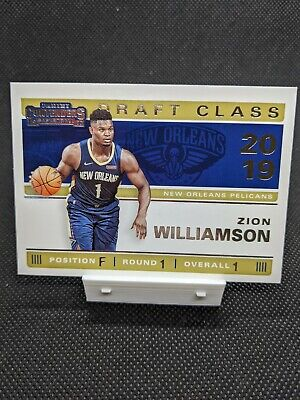 $14.99 • Buy 2019 Panini Contenders 2019 Draft Class #1 Zion Williamson New Orleans Pelicans