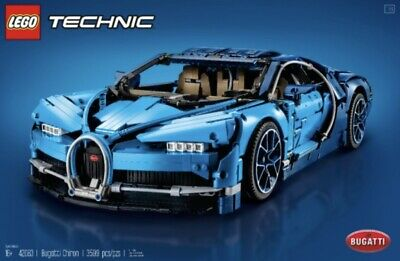 $240 • Buy PRE-OWNED MINT CONDITION LEGO Technic: Bugatti Chiron Supercar (42083) TOUCHED