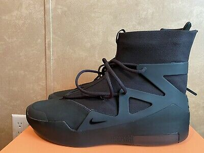$415 • Buy NEW Nike Air Fear Of God 1 Triple Black New Size 14 100% Authentic