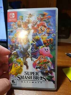 $28.40 • Buy Super Smash Bros. Ultimate (Nintendo Switch, 2018) Pre-Owned