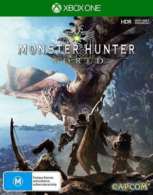 AU60.95 • Buy Monster Hunter World Xbox One Game USED