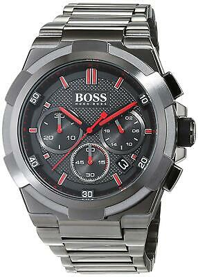 New Genuine Hugo Boss 1513361 Supernova Metal Gun Edition Steel Men's Watch • 109.99£