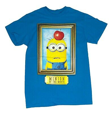 $9.99 • Buy Disney Despicable Me Men's T Shirt Minion Of The Month Graphic Tee