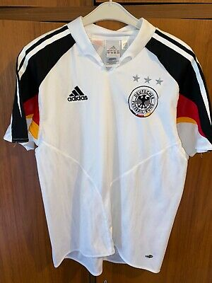 Vintage Adidas Germany Retro Football Shirt Jersey Mens Size XS Or Kids 164 • 10£