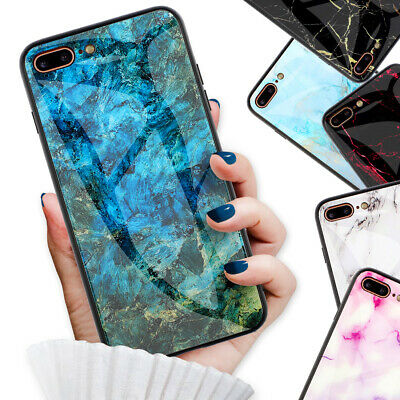 AU9.99 • Buy Marble Back Case Cover For IPhone 11 Pro XR XS MAX X 8 Plus 7 6S 6 F008