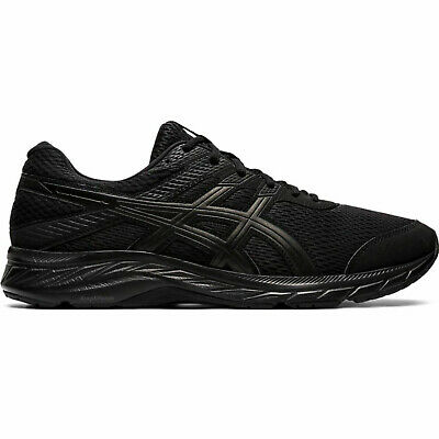 AU122.95 • Buy Asics GEL-Contend 6 (4E) [1011A666-002] Men Running Shoes Extra Wide Black
