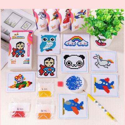 £3.13 • Buy Children Kids Diamond Painting Special Shape Drill Embroidery Craft Stitch Kits