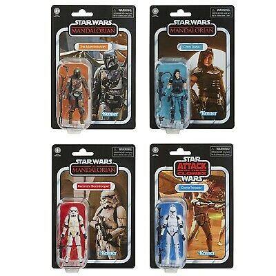 $ CDN109.99 • Buy Star Wars The Vintage Collection Wave 3 Set Of 4 The Mandalorian