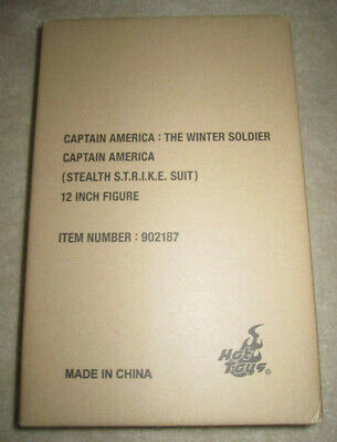 $375 • Buy NEW Hot Toys Marvel Captain America Winter Soldier Stealth STRIKE Suit MMS242