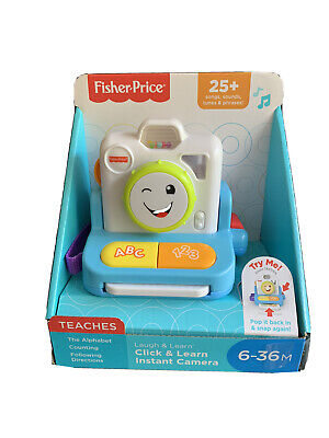 Fisher Price Click & Learn Instant Camera • 14£