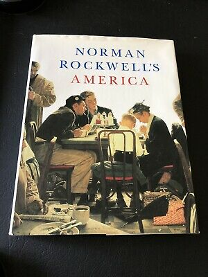 $ CDN32.94 • Buy Norman Rockwell's America By Christopher Finch Large Hardcover Book Coffee Table