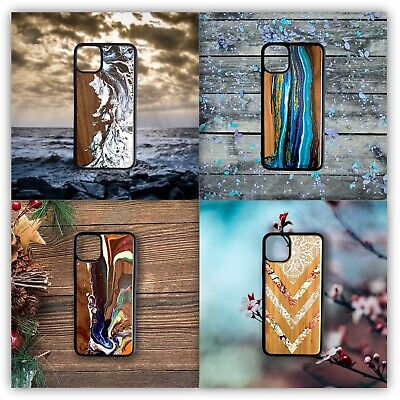 IPhone Case - Real Wooden & Bamboo Case IPhone X / XS + 11 Pro / Max • 19.99£