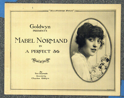 $200 • Buy A Perfect 36 '18 Mabel Normand Goldwyn Comedy Original Silent Title Card