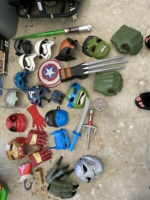 $60 • Buy Boy Mask And Accessory  Up Lot