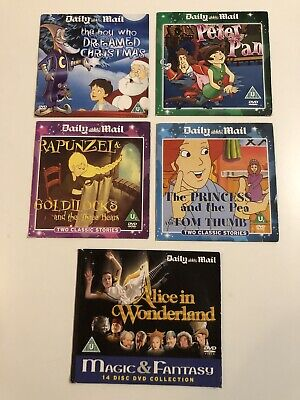 Daily Mail Children's Classic Stories 5 X DVD • 4.99£