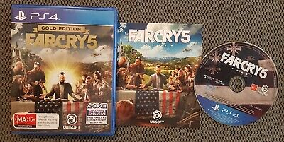 AU40 • Buy Farcry 5 Gold Edition PS4 Sony Playstation 4 Free Postage