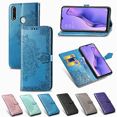 AU3.89 • Buy For OPPO A57 A52 A31 A8 Magnetic Flip Stand Card Wallet PU Leather Case Cover