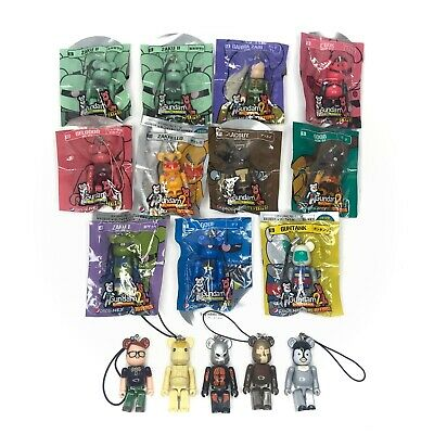 $44.98 • Buy Medicom Japan Pepsi Lot Of 16 Be@rbrick Bearbrick 70% Gundam Figures With Strap