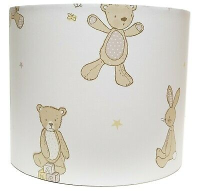 Teddy Bear Lampshade Ceiling Light Shade Boys Girls Nursery Accessories Gifts • 26.99£