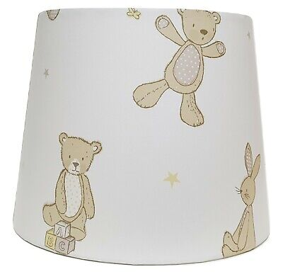 Teddy Bear Lampshade Ceiling Light Shade Nursery Kids Baby Accessories Gifts • 26.99£