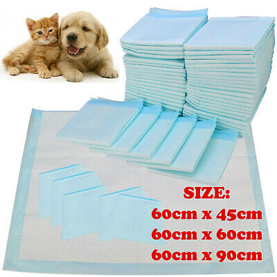 £9.95 • Buy Heavy Duty Large Puppy Pet Training Wee Pee Toilet Pads Pad Floor Mats Dog Cat