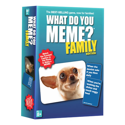AU48.95 • Buy What Do You Meme Family Edition Board Game NEW