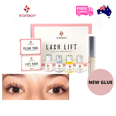 AU36.95 • Buy Lash Lift Kit Eyelash Perm Lashes Glue Extensions Makeup Diy Iconsign Eye Lash