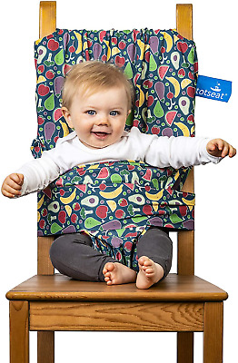 Totseat – The Award Winning Original Portable Travel High Chair Adjustable Safe • 36.99£