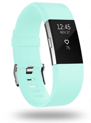 $ CDN64.86 • Buy Fitbit Charge 2 HR Heart Rate Monitor Fitness Tracker W/New Teal Band  (S & L)