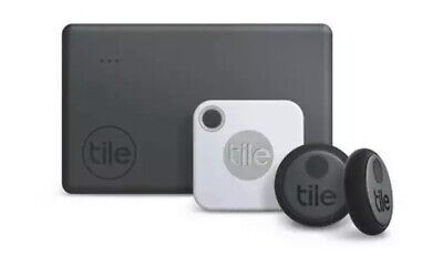 Tile Essentials Combo 4 Pack- GPS Bluetooth Tracker Key Finder Anything Locator • 59.99£