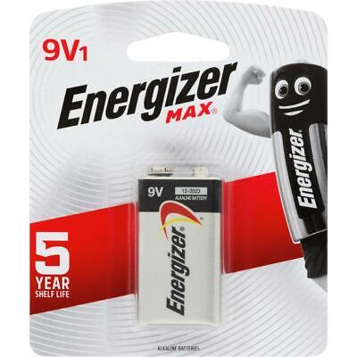 AU13.95 • Buy Energizer MAX 9V 9 Volt Battery Batteries 522BP1T - 1 Pack