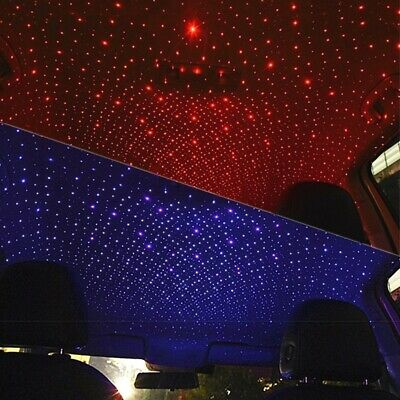 $ CDN9.95 • Buy USB Car Interior LED Atmosphere Star Sky Lamp Ambient Star Night Light Projector