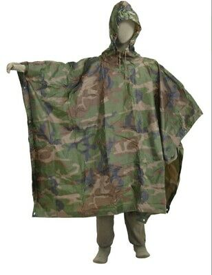French Foreign Legion African Jungle Poncho • 29.50£