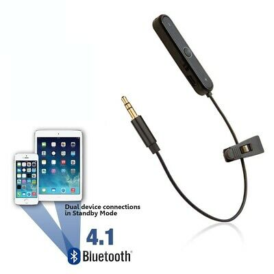 Wireless Bluetooth Converter Cable For V-Moda CrossFade M-100 M-80 LP2 Adapter • 14.95£