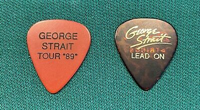 $ CDN190.25 • Buy George Strait Guitar Picks From The 1989 And 1993 Tour Mint!!! Rare 1989 Pick